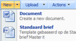 Meer dan 1 template in een SharePoint Document Library
