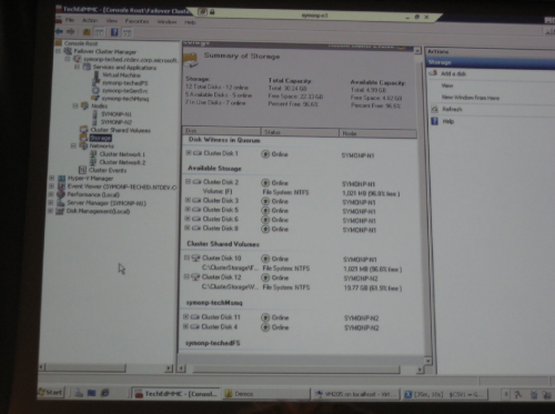 Windows 2008 R2 Failover clustering met Cluster Shared Volume