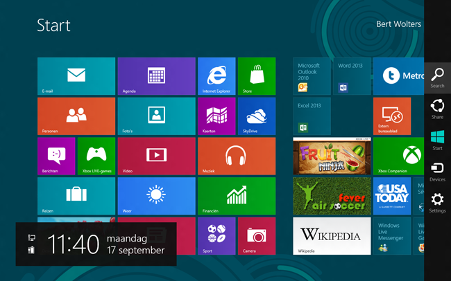 Integrated Scripting Environment in Windows 8